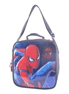 Spider man Spiderman Tek Bölmeli Beslenme Çantası (Hakan Çanta 88985)